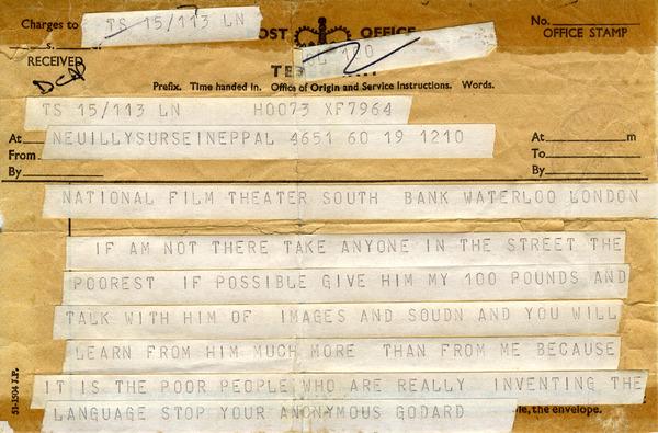 Godard-telegram